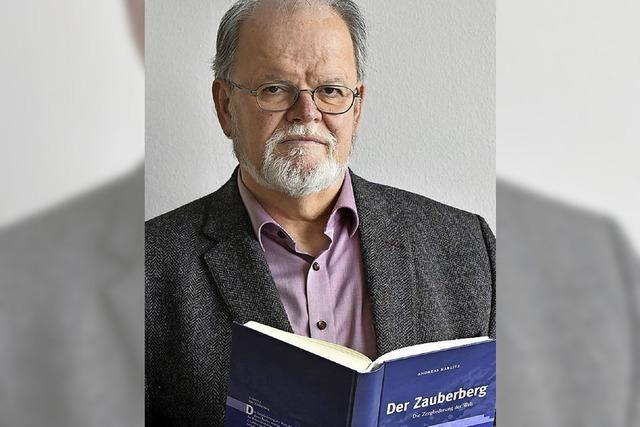 Der Literatur-Professor Werner Frick ist der neue Chef beim