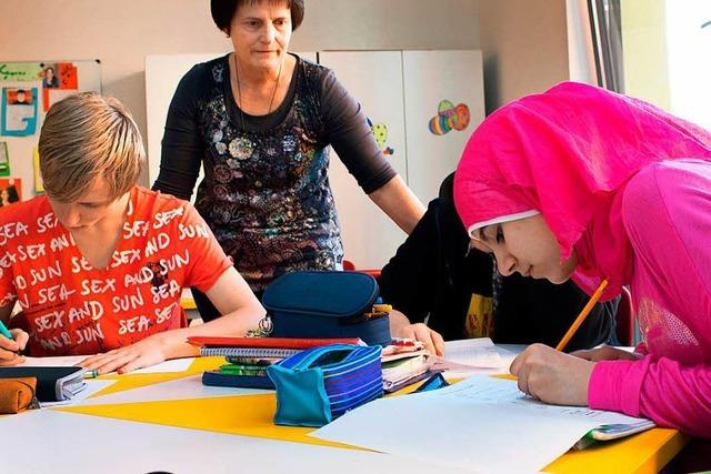 Die Integration geflüchteter Kinder und Jugendlicher an Schulen ist aufwändig