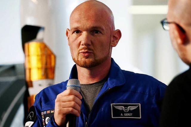 Alexander Gerst freut sich auf die neue ISS-Mission
