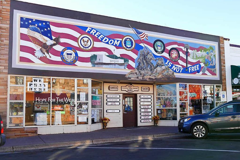Shop in Williams (Foto: Birgit Herrmann)