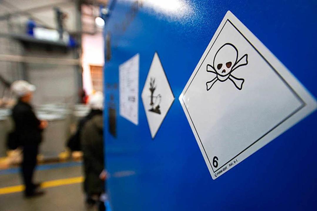 Der Giftmüll liegt seit Jahren in der ...denkt nun doch über eine Bergung nach.  | Foto: SEBASTIEN BOZON