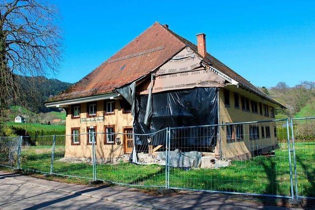 Ausflugslokal in Geroldstal wird neu gebaut – aus Holz und Glas