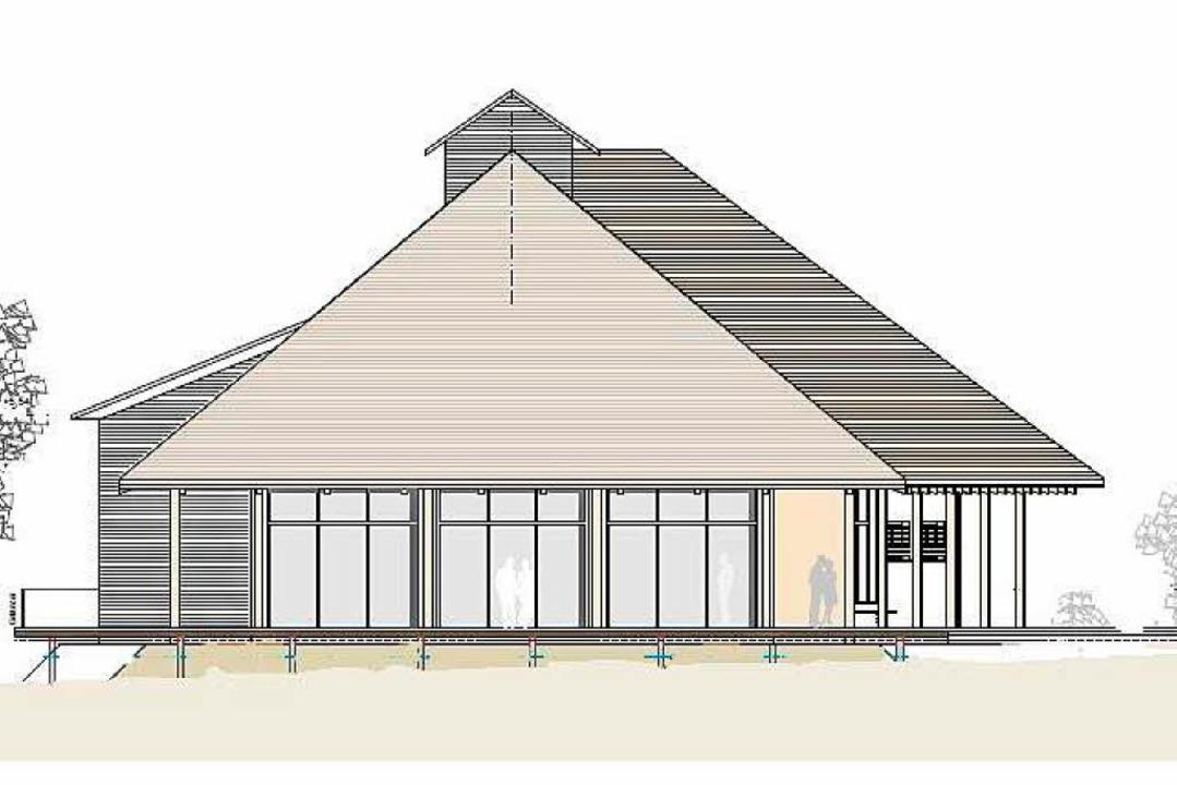 Nun soll der Hof mit modernen Materialien neu erstehen.  | Foto: Privat