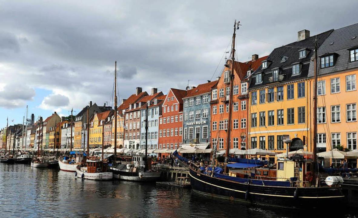 Der Nyhavn in Kopenhagen.    Foto: CHRISTOF STACHE