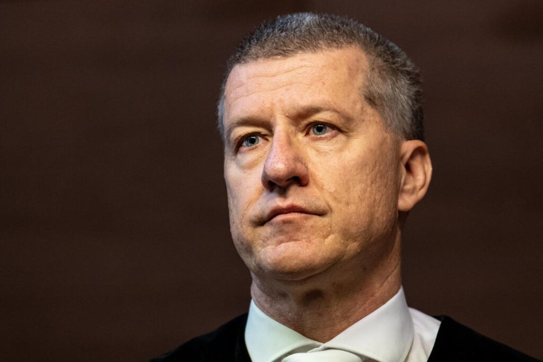 Der Vorsitzende Richter Stefan Bürgerl...esseröffnung in der vergangenen Woche.    Foto: dpa
