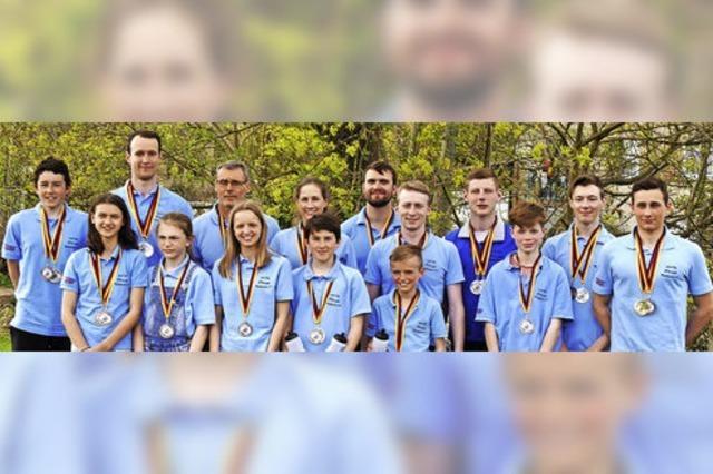 KC Elzwelle Waldkirch dominiert süddeutsche Meisterschaft