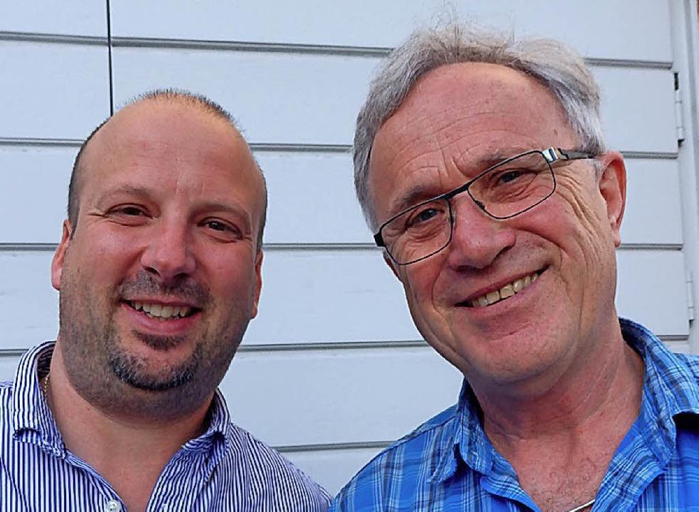 Patrick Ball (li.) und Dieter Funk vom Förderverein St. Fridolin.   | Foto: Johanna Högg