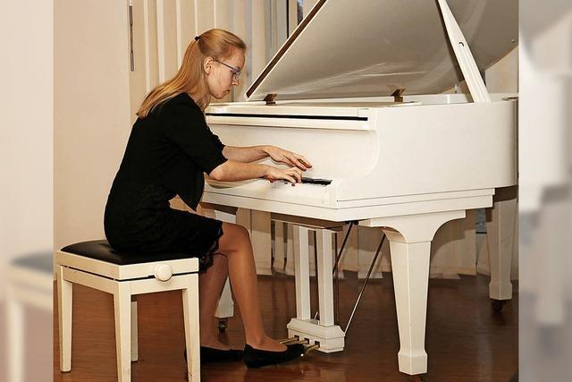 Preiswürdiges Können am Klavier