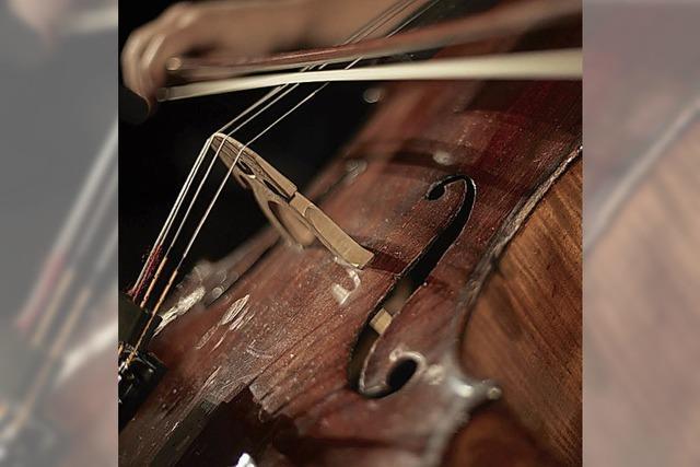 Cello Solo im Markgräfler Hof