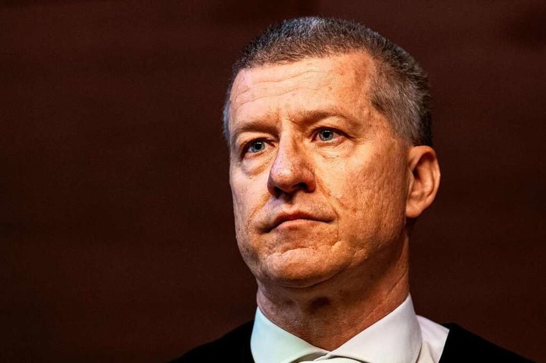 Der Vorsitzende Richter Stefan Bürgelin  | Foto: dpa