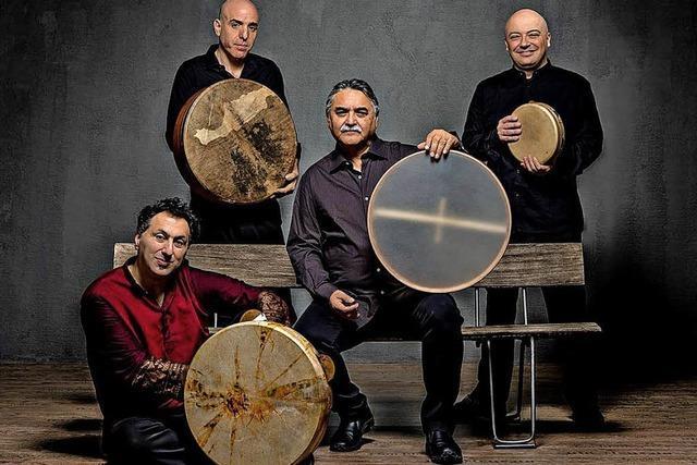 Masters of Frame Drums gastieren in Offenburg