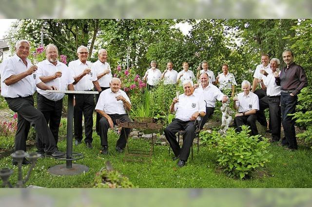 Männergesangsverein zu Gast in Steinenstadt