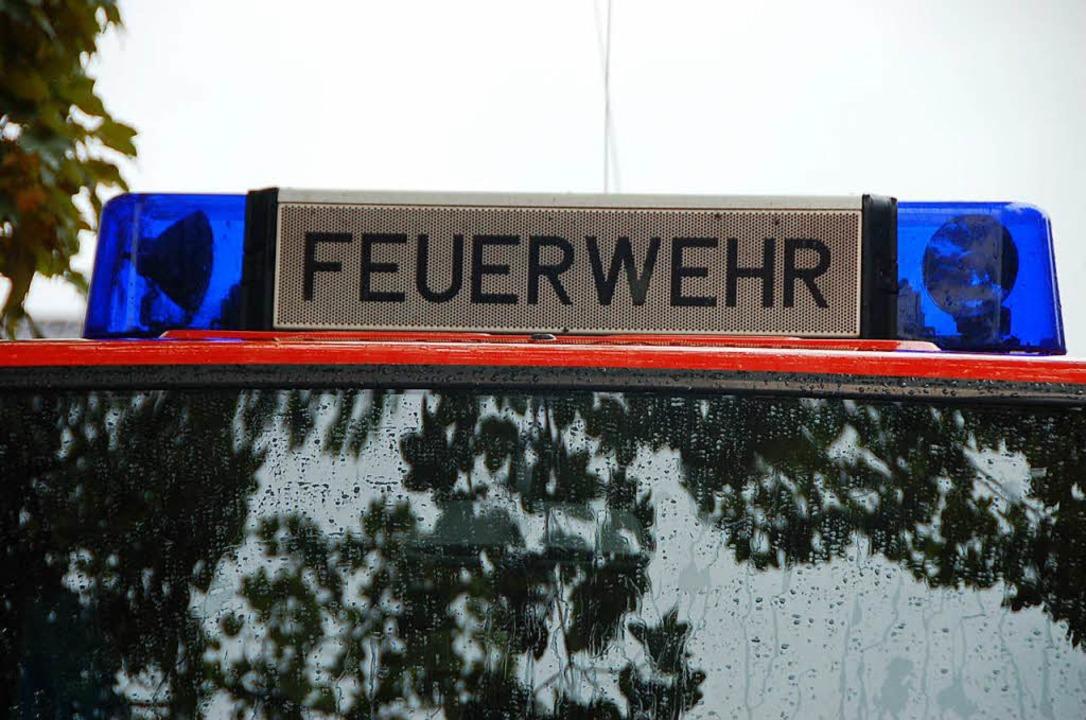 Die Feuerwehr war in Heuweiler im Einsatz.  | Foto: Kathrin Blum