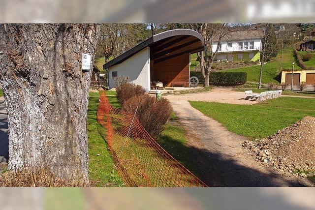 Ein Zaun für den Park