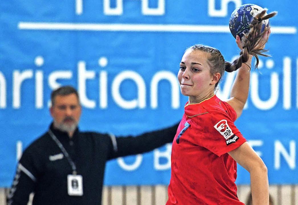 Anna Gempp wird die HSG zum Saisonende verlassen.   | Foto: Patrick Seeger