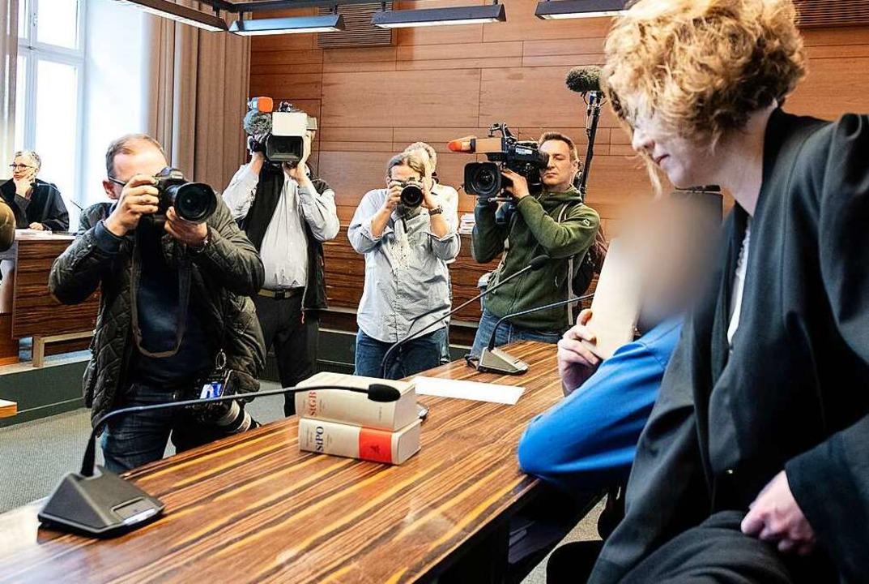 Ohne jegliche Empathie für seine Opfer: Markus K. vor Gericht      Foto: dpa