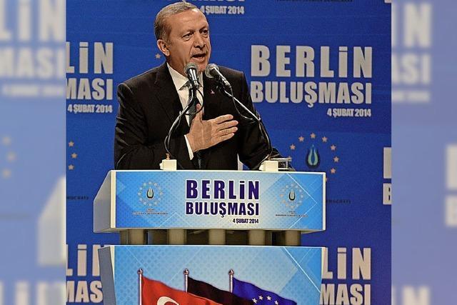 Erdogan darf hier nicht um Wähler werben