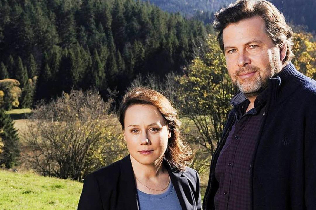 Eva Löbau und Hans-Jochen Wagner als K...e Franziska Tobler und Friedemann Berg  | Foto: Eva Hans