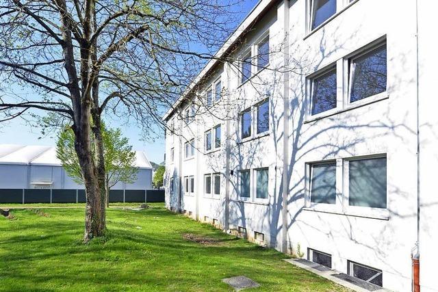 Das erste Wohnhaus der künftigen LEA wird eröffnet