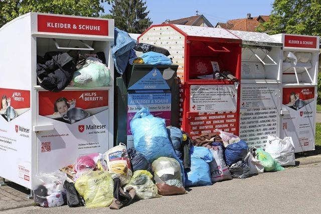 Aufruf zu Mülldisziplin