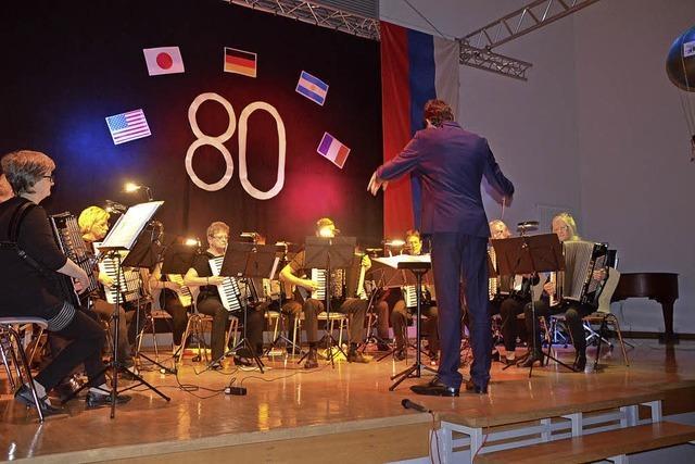 Akkordeonverein Herbolzheim und Kaiserstühler Harmonika-Spielring in Herbolzheim-Tutschfelden