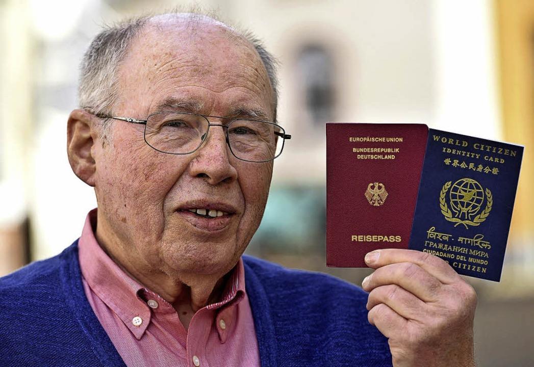 Klaus Schittich, Weltbürger   | Foto: Thomas Kunz