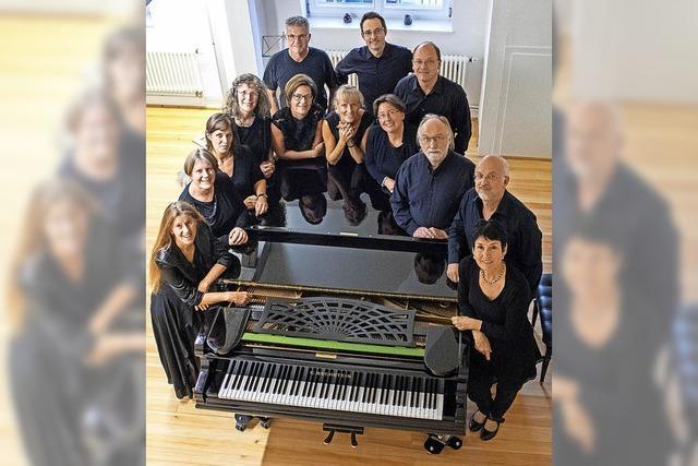 Ensemble 17 zu Gast in Sulzburg und Müllheim