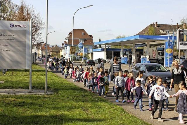 Im Ernstfall finden Kinder Unterschlupf bei Evonik