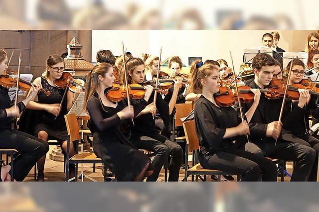Junge Musizierende sind motivierend