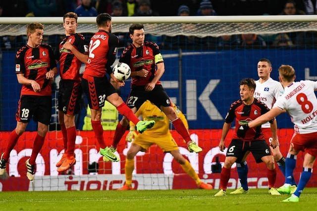 Der SC Freiburg wartet auf die Überraschung gegen den Absteiger HSV