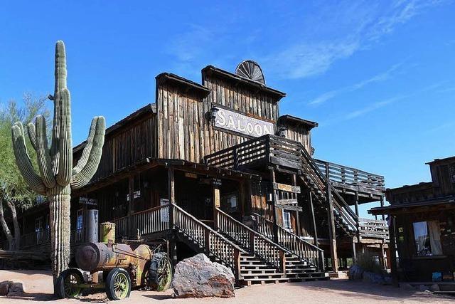 Im Wüstenstaat Arizona fühlt man sich wie in der Kulisse eines Westernfilms