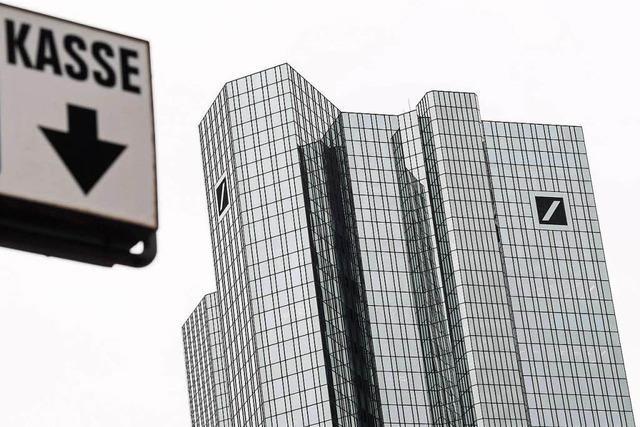 Ist die Deutsche Bank einem