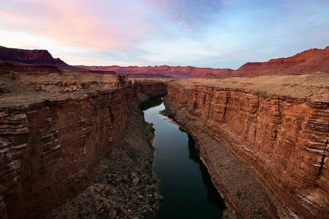 Der Grand Canyon in den USA.  | Foto: DAVID MCNEW