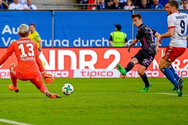 SC Freiburg verliert trotz guter erster Halbzeit 0:1 in Hamburg