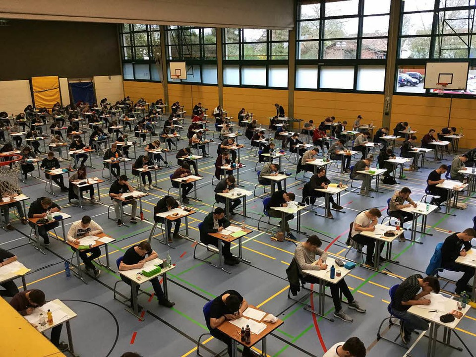 Abiprüfung, hier an der GHSE in Emmendingen.    Foto: GHSE