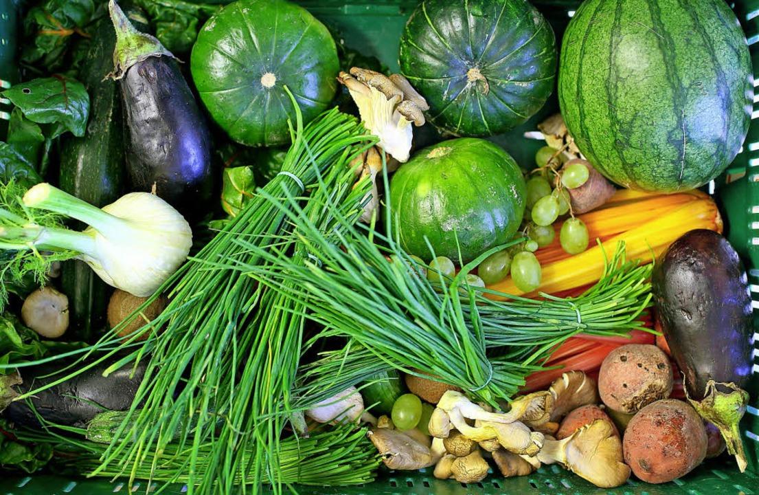 Nur 20 Prozent der in Freiburg verzehrten Lebensmittel  stammen aus der Region.  | Foto:  dpa