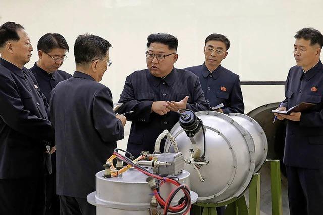 Kim setzt Atomtests aus