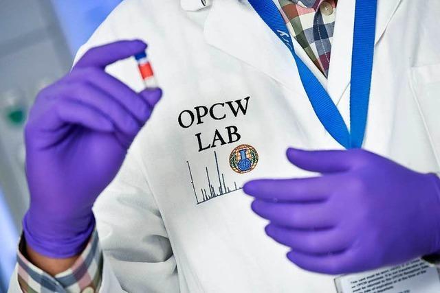 OPCW: Chemiewaffen-Inspekteure haben Proben in Duma genommen