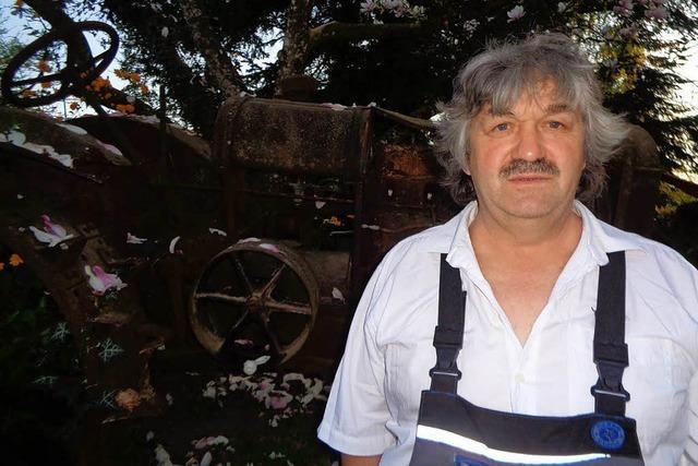 Ein Herz fürs Alte und die Revolution: Armin Kreiter sammelt historisches Werkzeug
