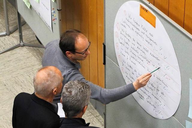 Vier-Phasen-Modell zur Bürgerbeteiligung in Lörrach
