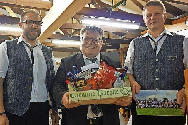 Dietmar Würth verlässt die Trachtenkapelle