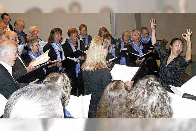 Vier Chöre singen für einen guten Zweck