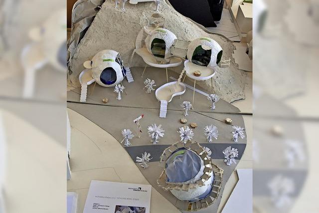 Ausstellung zum Architektur-Modellwettbewerb