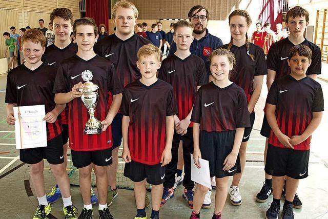 Haagen verteidigt Pokal