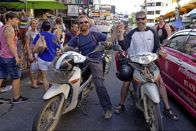 Vom Kaiserstuhl nach Bangkok auf dem Motorrad