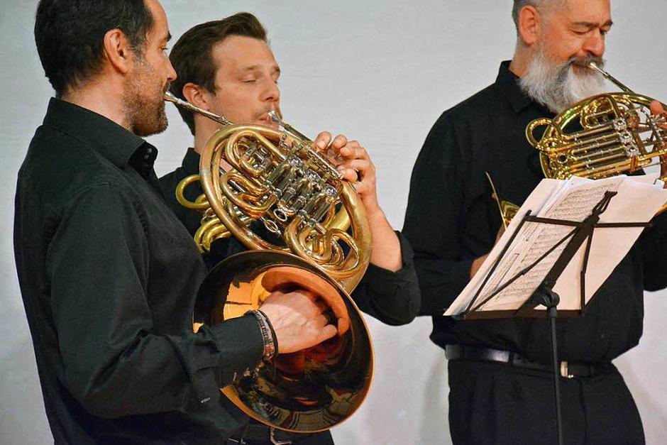 Beim Konzertabend (Foto: Hannes Lauber)