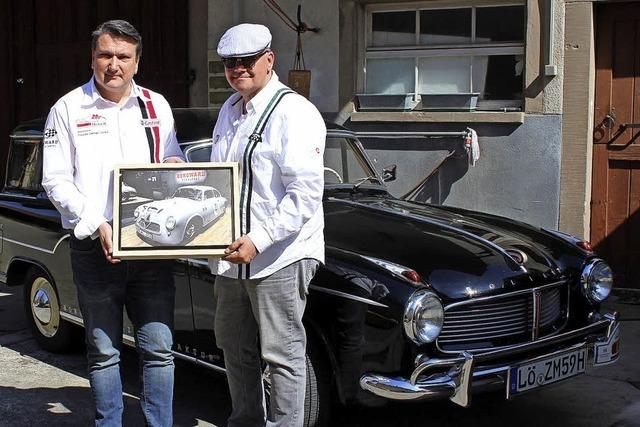 Mit einem Borgward Hansa 1500 nach Le Mans