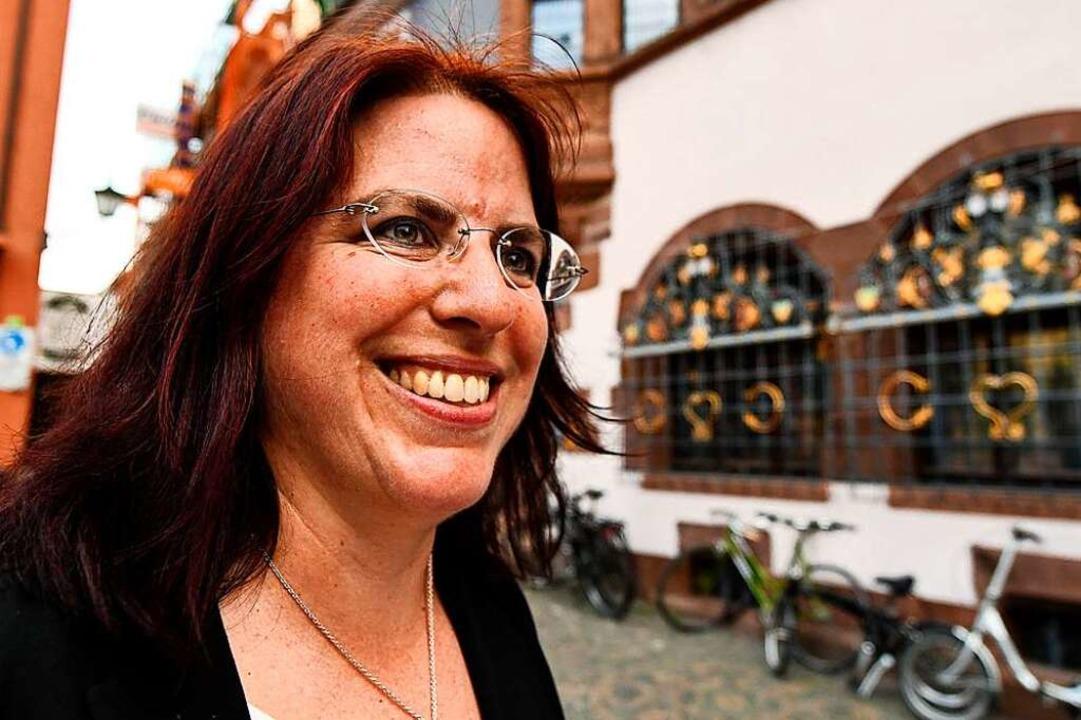 Mehr als ein Achtungserfolg: Monika Stein erreichte ein starkes Ergebnis.  | Foto: dpa