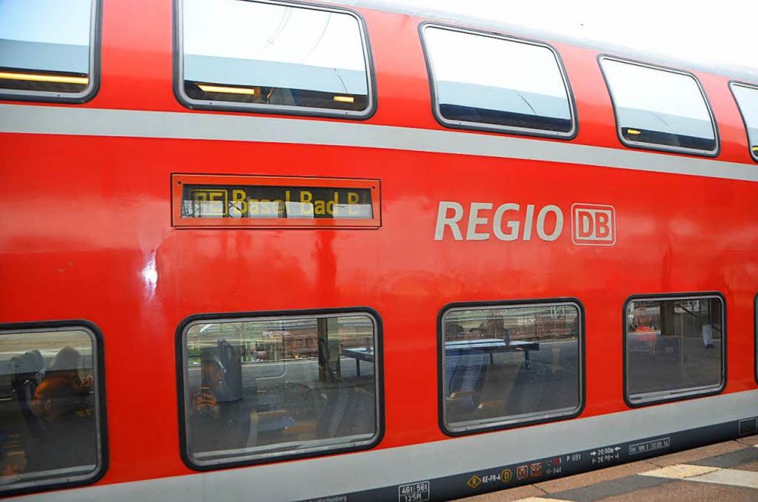 In einem Zug der Regionalbahn wie dies...r sexuellen Belästigung gekommen sein.    Foto: Victoria Langelott