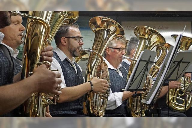 Blasmusiker wecken Erinnerungen
